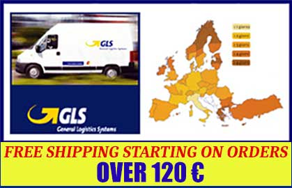 Free shipping for orders over € 99