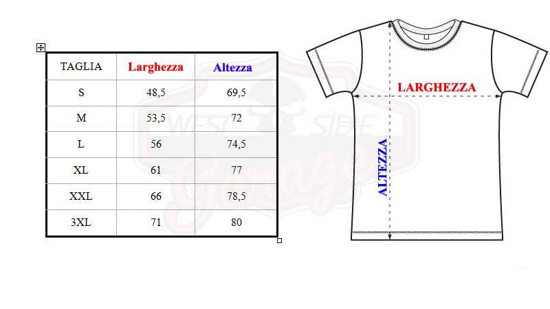 T-shirt biker custom