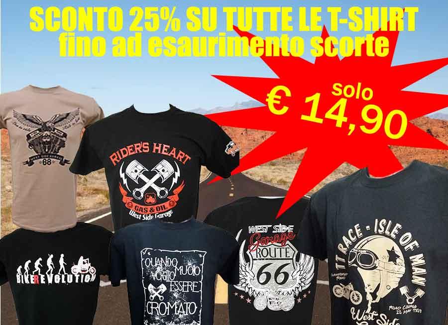 T-shirt a soli € 14,90 - spedizione gratis per min. 3 pezzi